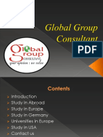 Best Global Overseas Education Consultants in India - GG Consultant