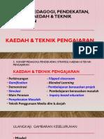 5b Kll Kaedah Dan Teknik Pengajaran