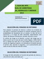1. Manual de Hidrología, Hidráulica y Drenaje Del MTC 2013