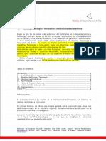 BNC - Ciencia, Tecnología e Innovación Institucionalidad Brasileña