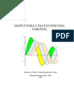 Apostila - MAPLE Para Cálculo Em Uma Variável - Maurício a. Vilches - Maria Hermínia de P. Leite - IME UERJ