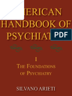 American Handbook of Psychiatry - Volume I - The Foundations of Psychiatry