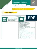 EY Financial Analysis Program Curriculum