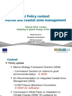 Snoeren, Birgit - LITTORAL 2010 - ICZM MSFD Adaptation Policy Update