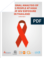 UNICEF Study on HIV Infection Among Young Peole FINAL ENGLISH