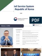 PPT Menpan Korea