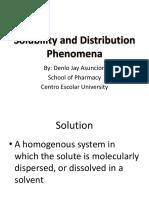 Student Copy-Solubility and Distribution Phenomena (1)