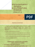 Programa Cl v Romana