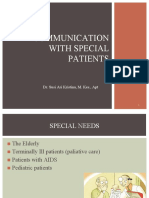 Communication With Special Patients.pptx