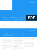21 Essential Steps Auditing Compliance EBrief