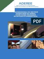 Guide Technique de l'Efficacité Energétique Dans Le Secteur Touristique