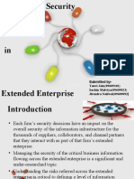 Information Security in the Extended Enterprise