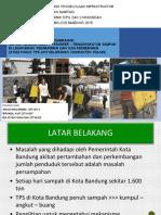 Perencanaan Sistem Persampahan (Studi Kasus Tps Cisaranten Kulon Kota Bandung)