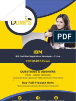 C7010-010 Exam Questions - Get Real C7010-010 Dumps Questions Guarantee Success
