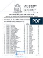 Gulu University Private Sponsorship Admission List 2018/ 2019 Academic Year
