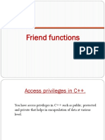 12.Friend Function