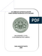 Autoevaluacion - Ingenieria Civil