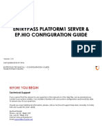 Platform1 Server and HIO Configuration Guide V1.01