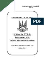 TYBSc IT Syllabus-1