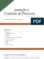 Instrumentação e Controle de Processo
