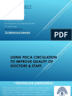 Using Pdca Circulation to Improve Quality of Doctors