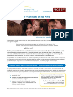 Spanish- Sexual Development and Behavior in Children -- NCTSN NCSBY