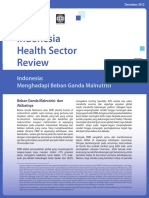 Indonesia Facing Up to the Double Burden of Malnutrition Bahasa Indonesia