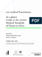 Guide to Medical Standards of Fitness to Drive