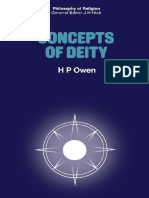 [H. P. Owen (Auth.)] Concepts of Deity