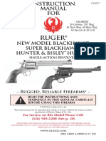 Ruger Blackhawk Instruction Manual