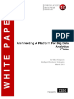 Architecting a Platform for Big Data Analytics