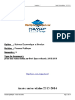 S5 - EP - Finance Publique