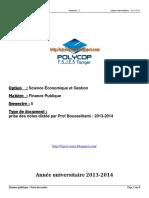 S5 - EP - Finance Publique