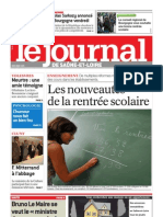 Le Journal 2 Septembre 2010