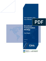 Downtown Transportation Strategy Final Report