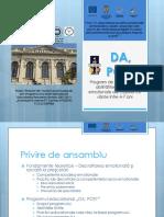 Prezentarea Programului DA Poti