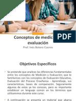 1. Conceptos de Medicion y Evaluacion