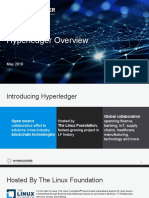 Hyperledger Overview April 2018 2