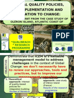 Duvat, Virginie - LITTORAL 2010 - Coastal Quality Policies, ICZM Implementation and Adaptation to Change