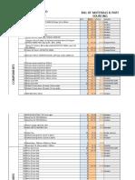 BCN3D Moveo BOM for Proto-Plant