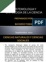 Epistemologia y Ontologia de La Ciencia