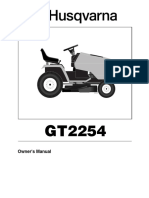 Husqvarna GT2254 Owner's Manual