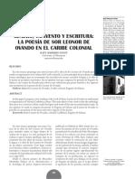 La poesía de Sor Leonor Ovando en el Caribe colonial. Marrero Fente..pdf
