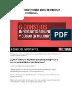 6 Consejos importantes para prospectar y cerrar en multinivel.docx