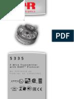 Manual Trm Pr Eletronics 5335a