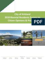 2018 Community Survey Report