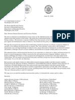 Letter from NYS Legislators on Family Separation