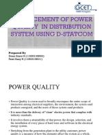 Enhancementofpowerqualityindistributionsystemusingd Statcom 130426015903 Phpapp01