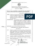 Decreto N° 9088 del 22.06.2018 Reajuste Salarial