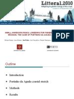 Pinho, J. - LITTORAL 2010 - Small Harbours Risks